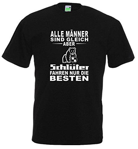 Schlüter T-Shirt | Die Besten Fahren Schwarz | Größe XL