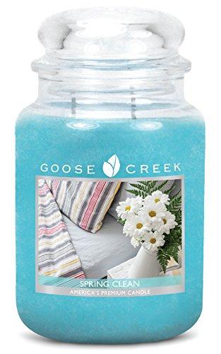Goose Creek Bougie Grande en Pot au Parfum de Nettoyage de Printemps 24ounce