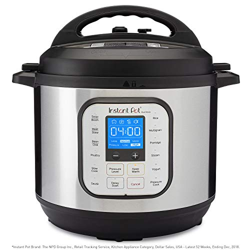 Instant Pot Duo Nova 7-in-1 Electric Pressure Cooker, Slow Cooker, Rice Cooker, Steamer, Saute,...