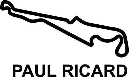 Online Design Paul Ricard Circuit Piste GP Autocollant Voiture