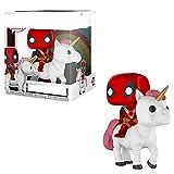Pop Figures Movie Series Vinyl Figure #36DeadpoolOn Unicorn Action Figure 10Cm,PVCToys Funny Room Décoration De Voiture Cadeaux Pour Les Enfants