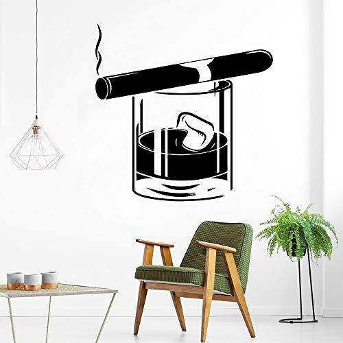 Tianpengyuanshuai Rauch und Wein Vinyl tapete wandaufkleber Wohnzimmer Dekoration malerei wandaufkleber Kunst dekoration28x28cm