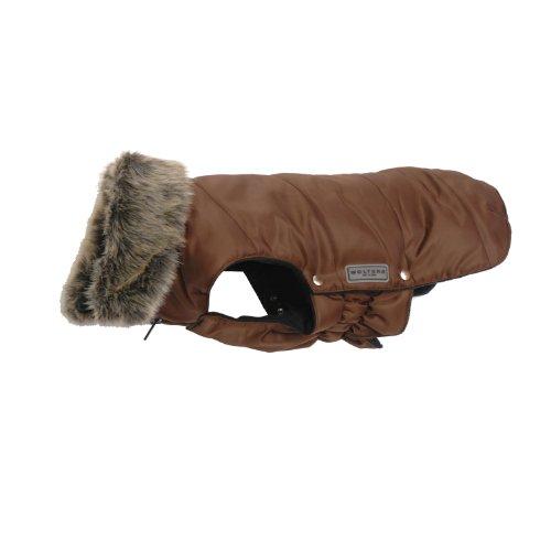 Wolters Cat&Dog 49181 Parka mit Fellkragen für Mops&Co. 44 cm, braun