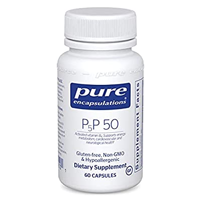 Pure Encapsulations - P5P 50 - Activated Vitamin B6 to Support Metabolism of Carbohydrates, Fats, and Proteins