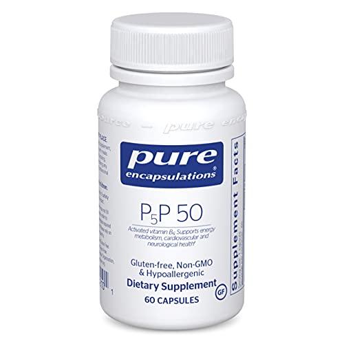 Pure Encapsulations P5P 50 | Vitamin B6 Supplement to Support Metabolism* | 60 Capsules