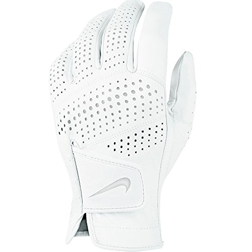 Nike Tour Classic II Golf Glove 2016 Cadet White/Grey Silver Fit to Left Hand Large