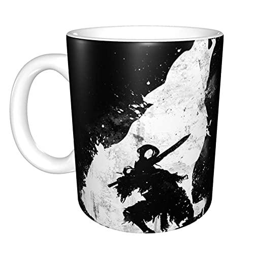 Abyss Warrior Home Taza de té de cerámica para oficina Taza de café de oficina 10 oz