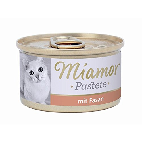 24er Pack Miamor Pastete Fasan 85g