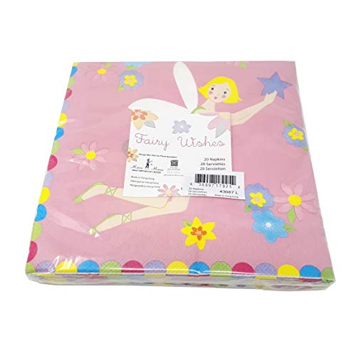 Meri meri fairy fée wishes serviettes