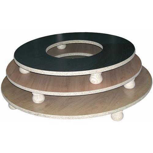tarima para brasero, diámetro de 70 cm