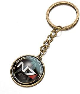 Fashion Inspiration Alloy Keychain Mass Effect N7 Time Keychain