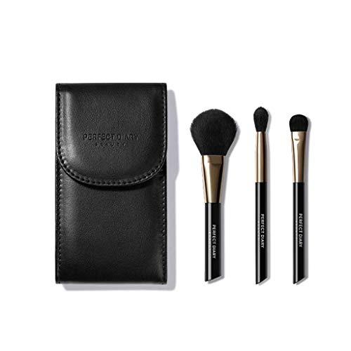 LHY- Brosse Maquillage Ombre à paupières de Base 3 pièce Ensemble Outil de Maquillage de Brosse Brosse Ombre à paupières Femme Mode