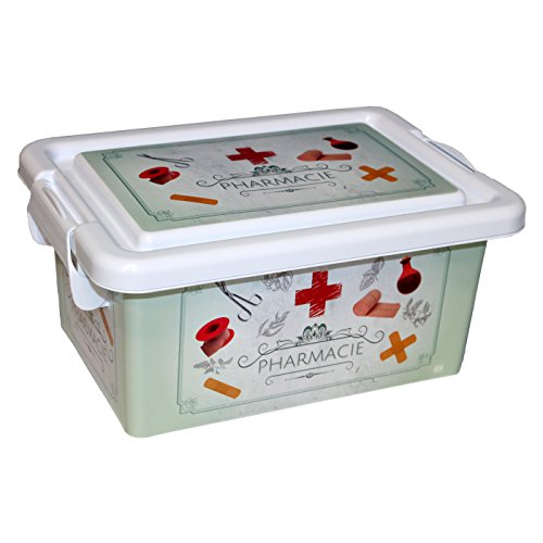 BG Spazio Caja botiquín de plástico 3.7 L