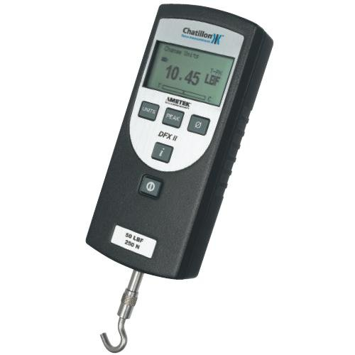 Las Vegas Mall Chatillon Max 79% OFF DFX2-010-NIST Digital Force Certificate Gauge With of
