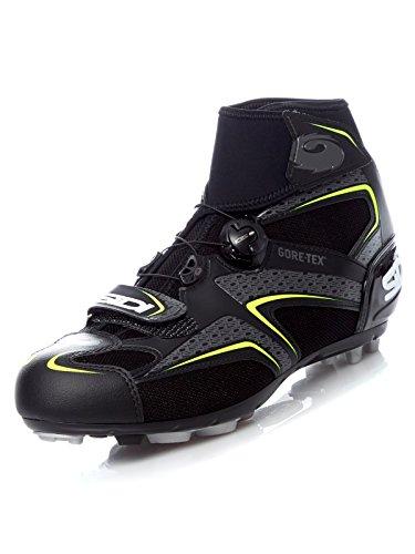 Frost Gore-Tex Mountain Bike Shoes (42, Black/Yellow)