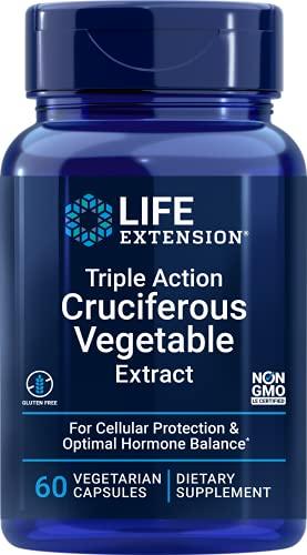 Life Extension Triple Action Cruciferous Vegetable...