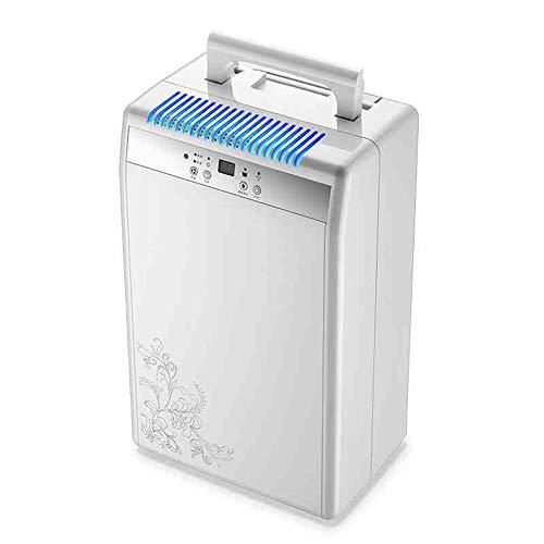 Haizh Elektrische radiator, 22,5 pinnen, Smart Home luchtontvochtiger met afvoerslang, intelligente luchtbevochtiger voor slaapkamer, badkamer, camper of kelder, met 1,5 liter waterreservoir