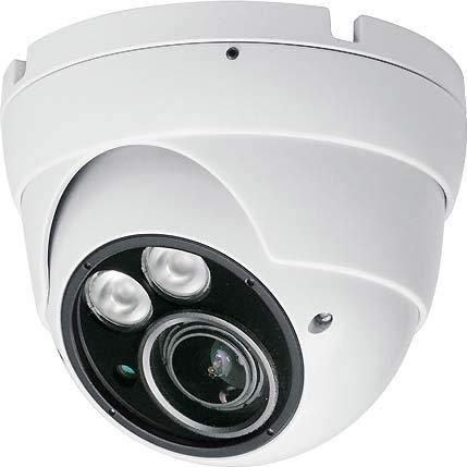 Indexa AHD T/N Kugelkamera IND2417 wetterf, 2,8-11mm Kamera für Überwachungssystem 4015162259179