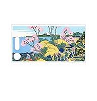 Xperia XZ1 SO-01K 用 クリアハードケース 浮世絵プリント (葛飾北斎 「富嶽三十六景 東海道品川御殿山ノ不二」)