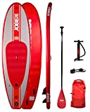 Jobe Desna 10.0 - Tabla de surf hinchable, color rojo