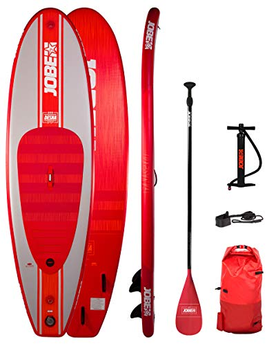 Jobe Desna 10.0 Red Aufblasbares SUP Board Paket