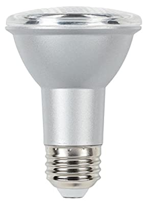 Westinghouse 50W Equivalent PAR20 Flood Dimmable Cool Bright LED Energy Star Light Bulb with Medium Base