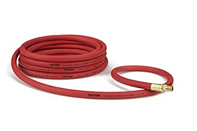 TEKTON 46614 3/8-Inch by 25-Feet 300 PSI Hybrid Air Hose with 1/4-Inch MNPT Ends