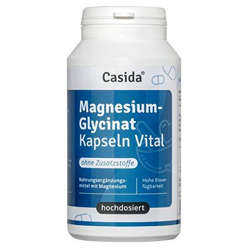 Magnesiumglycinat Kapseln - reines, hochdosiertes Magnesiumglycinat in Kapseln - 120 Magnesium Kapseln - 420 mg Magnesium je Tagesdosis - aus der Apotheke