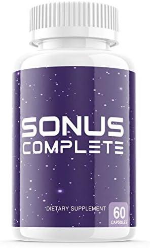 Sonus Complete Tinnitus Supplement Pills Premium Sonus Relief Supp Capsules for The Original product image