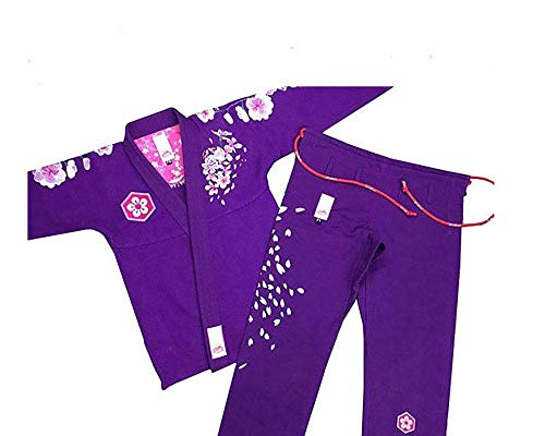 Ladies Brazilian Jiu Jitsu Suit Female BJJ Gi Kimonos Women BJJ Uniform