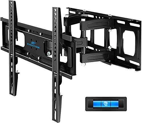 """Everstone TV-Wandhalterung Passend für die meisten 32-65\"""" Fernseher. Schwenkbarer 2.65-14\""""-Verlängerungsarm,Universal für Flachbildschirm, OLED, LED, gebogener Fernseher, bis zu VESA 400*400 mm"""