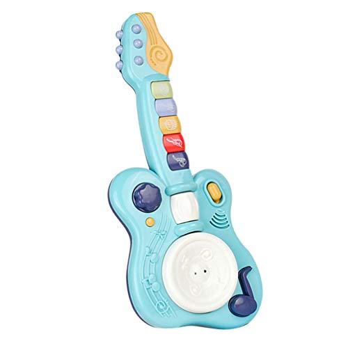 TOYANDONA Guitarra para Niños sin Cuerda Guitarra Eléctrica para Niños Instrumentos Musicales...