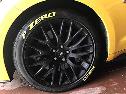 LK Performance - Adhesivo de goma para neumáticos, color amarillo