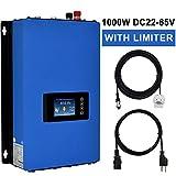 ECO-WORTHY 1000W 1KW MPPT Solar Grid Tie Inverter Power Limiter DC 22 to