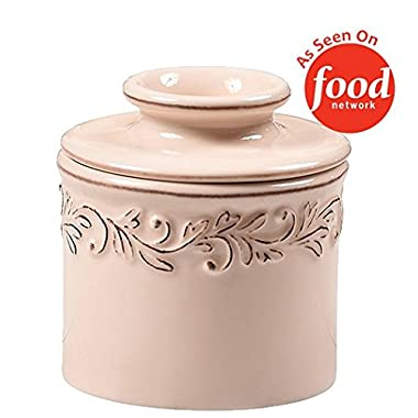 The Original Butter Bell Crock by L. Tremain, Antique Collection - Ivory Rose