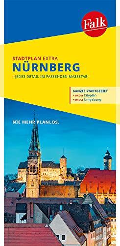 Falk Stadtplan Extra Standardfaltung Nürnberg 1:20 000: mit Ortsteilen von Feucht, Fürth, Heroldsberg, Oberasbach, Röthenbach a. d. P. (Falk Stadtplan Extra Standardfaltung - Deutschland)