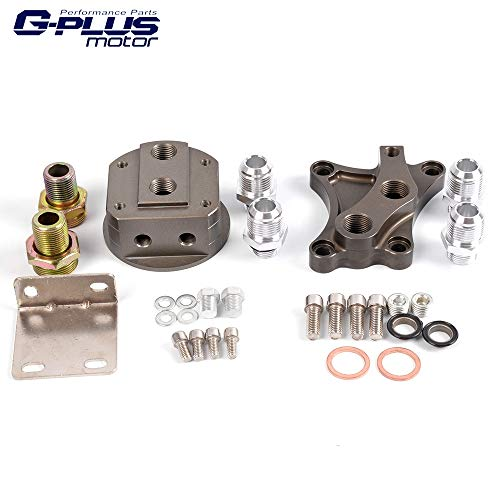 Oil Wedge Block Adaptor Replacement For NISSAN 240SX 200SX SR20DET CA18DET S13 S14 S15