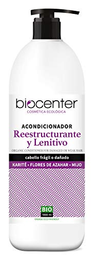 Biocenter Top - Acondicionador ecológico Reestructurante y Lenitivo - Envase Ecofriendly 1000 ml