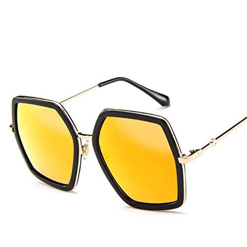 SCAYK 2021 Nuevas Gafas de Sol cuadradas de Gran tamaño Mujeres de Lujo diseñador de la Marca Vintage Gafas de Sol de Moda Moda Grande Marco de Sol Gafas de Sol UV400 Gafas de Sol de Moda