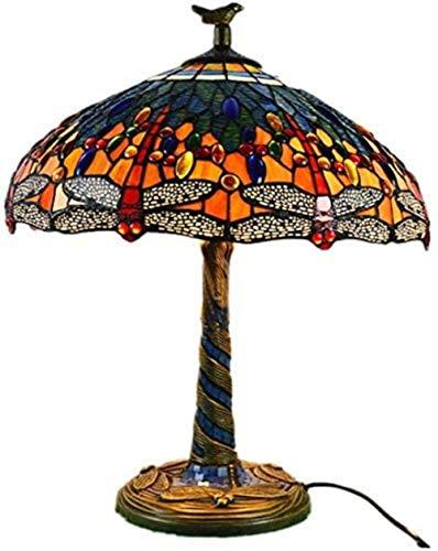 AIOJY Lámparas De Tiffany Lámpara De Mesa De 18 Pulgadas Mano-1 Luz...