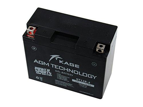 GEL-Batterie-KAGE YT12B-4 / YT12B-BS 12AH für Aprilia Benelli Cagiva Ducati Kawasaki T r i u m p h
