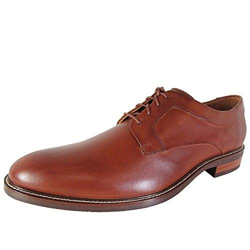 Cole Haan Mens Warren Plain Oxford Dress Shoes, British Tan, US 8.5 W