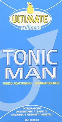 Ultimate Italia Tonicm Tonic Man - Quando il Vigore Fisico Scarseggia, Tiralo Sù, Neutro, 80 Unità