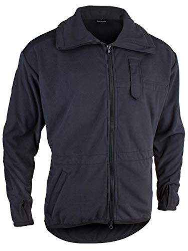 STEINADLER Alpinjacke G3 FW | Warme Winddichte Fleece-Jacke für die Feuerwehr | Feuerwehr Army Militär Wandern Outdoor Prepping | RAL-5004 Schwarzblau Dunkelblau (schwarzblau (RAL5004), Small)