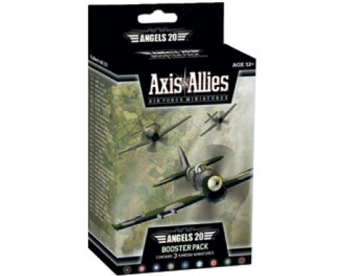 Wizards of the Coast Axis and Allies Miniatures Angels 20 Air Force Booster Game Set