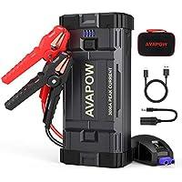 Avapow A28 3000A Peak 23800mAh Car Battery Jump Starter