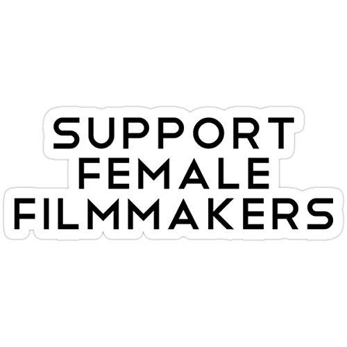 DKISEE Pegatinas de soporte para cineastas de mujeres, bolsa de agua, bolsa de agua, bolsa (3 piezas/paquete) de 10,16 cm