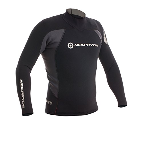 2017 Neil Pryde Junior Raceline 3/2mm Neoprene Top Black 630140J Junior Sizes - JUNIOR EXTRA LARGE