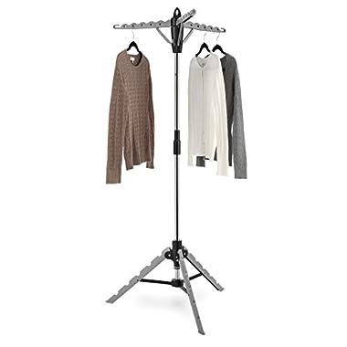 Whitmor Garment and Drying Rack - Tripod Design for Maximum Stability