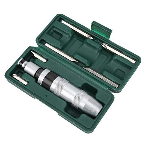 SALUTUYA Destornillador y Broca, Material de Acero 45#, Juego de Destornilladores y Brocas, Herramienta Industrial